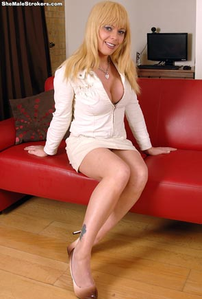 Joanna Jet on Shemale Strokers!