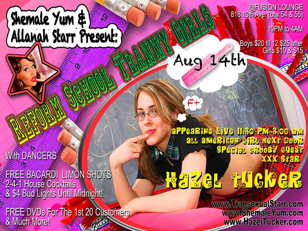 t hazel tucker party If Youre In NYC In August...