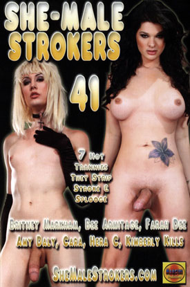 Sammi Mancini's Shemale Strokers: Volume 41
