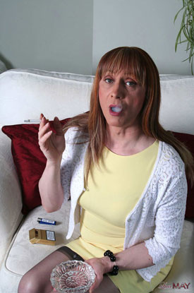 Luci May - Smoking and Stroking!