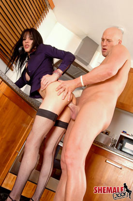 British Tgirl Jordan Jay on Shemale.XXX!