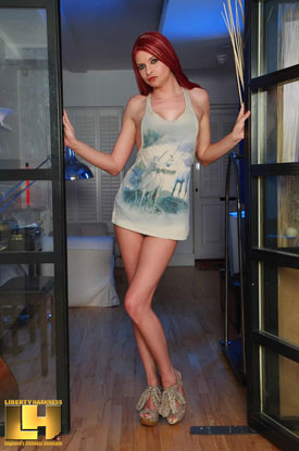 t liberty harkness longshirt 01 British Tgirl Liberty Harkness In Her Long Shirt!