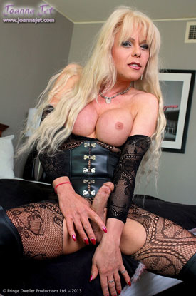 t joanna jet bad girl 01 British Tgirl Joanna Jet Shows Off Her Dark Side!