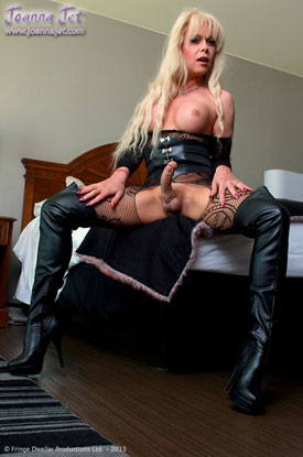 t joanna jet bad girl 03 British Tgirl Joanna Jet Shows Off Her Dark Side!