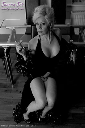 t joanna jet retro 03 Retro Pics With British Tgirl Joanna Jet In Black And White!