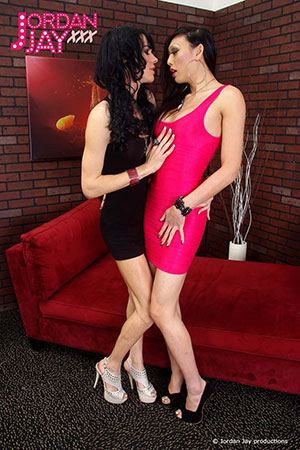 British Tgirls presents Jordan Jay and Venus Lux!