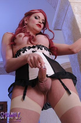 t british tgirls liberty harkness 04 British Tgirl Liberty Harkness Beautiful In Lingerie At Shemale Club!