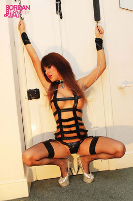 t british tgirls jordan jay 02 Whips And Chains From British Tgirl Jordan Jay!