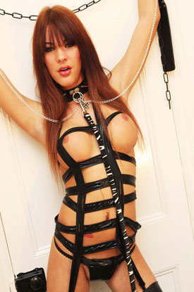 t british tgirls jordan jay 03 Whips And Chains From British Tgirl Jordan Jay!