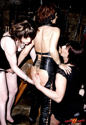 t british tgirls dungeon 03 British Tgirls Have Some Dungeon Fun On TranzMania!
