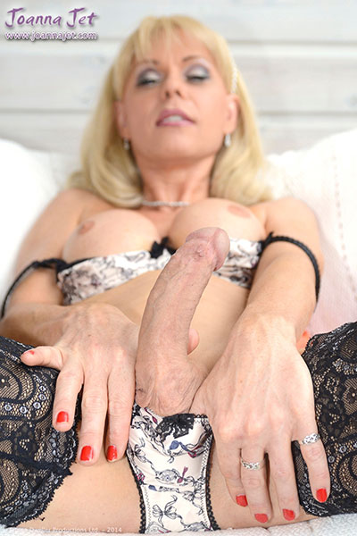 t british tgirl joanna jet 03 Lingerie Day With British Tgirl Joanna Jet!