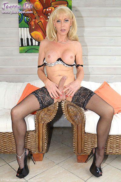 t british tgirl joanna jet 04 Lingerie Day With British Tgirl Joanna Jet!