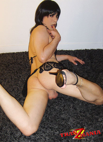 British Tgirl Steff on TranzMania!
