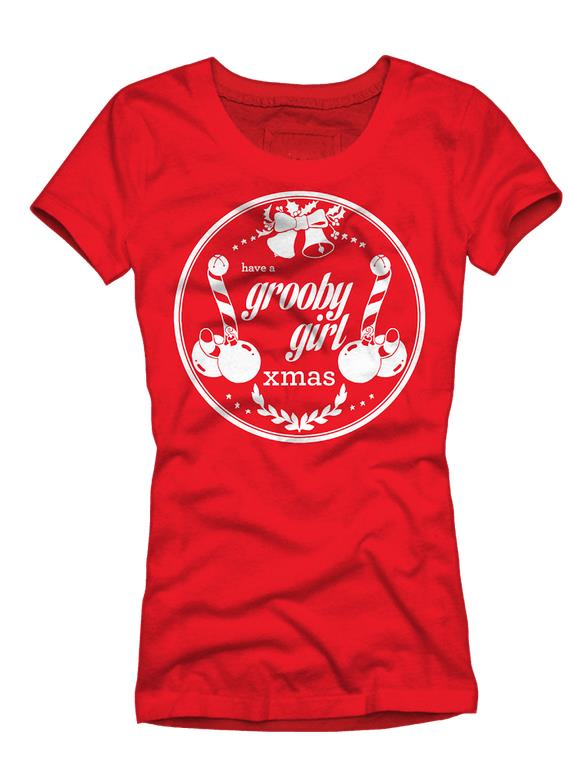 xmas shirt1 The Grooby Girls Holiday Tgirl Competition Special!